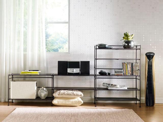 HomeChoice Stratum 3-tier storage shelf duo