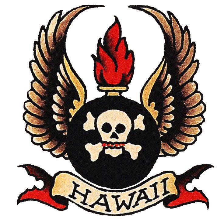 Vintage Tattoos Hawaii Rockabilly  Sailor Jerry Tattoo