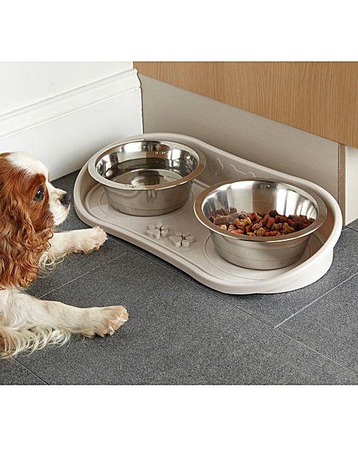 No Mess Dog Bowl Tray | House of Bath