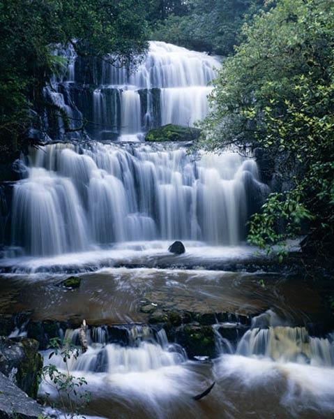 Purakanui falls, The Catlins, Southland NZ
