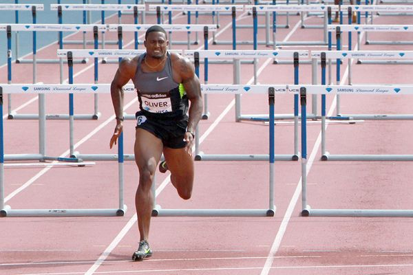 Oliver venceu os 110 m com barreiras - Divulgação/IAAF/Victah Sailer
