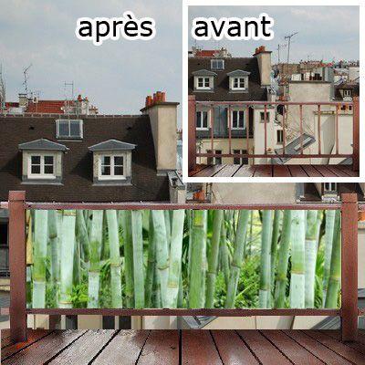 coupe vent pour terrasse et balcon masquez la vue avec ludicade terrasse pinterest. Black Bedroom Furniture Sets. Home Design Ideas