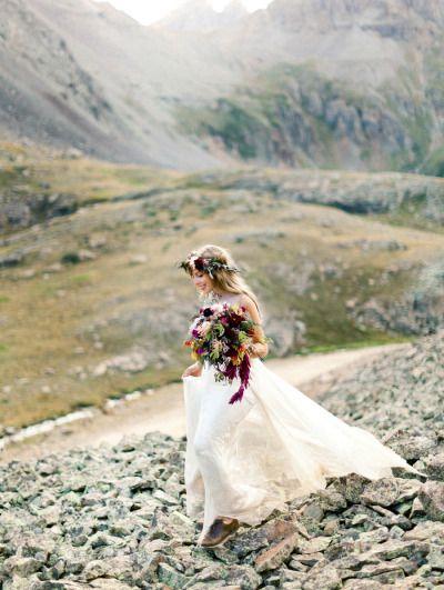 mountains + bridal