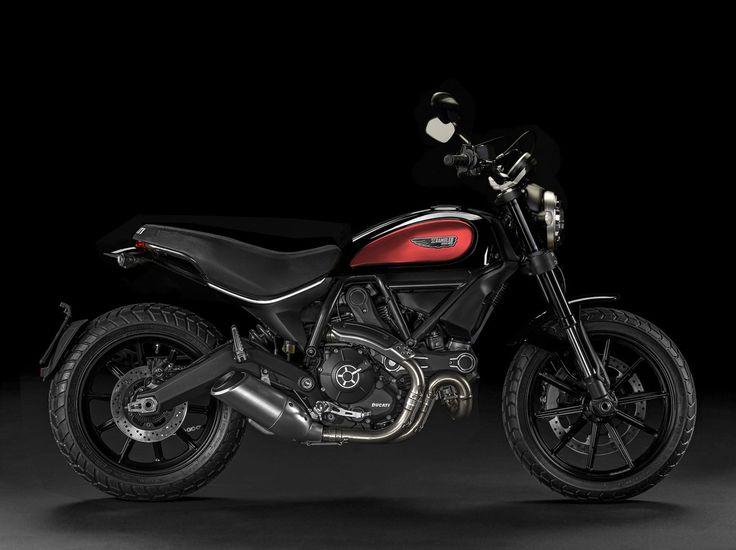Ducati Scrambler ICON black/red