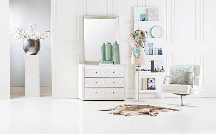 commode Chateau - #slaapkamer #wit #romantisch - #Goossens wonen ...