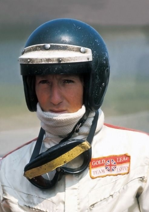 Jochen Rindt, 1969. Driving a Lotus 49B back then.