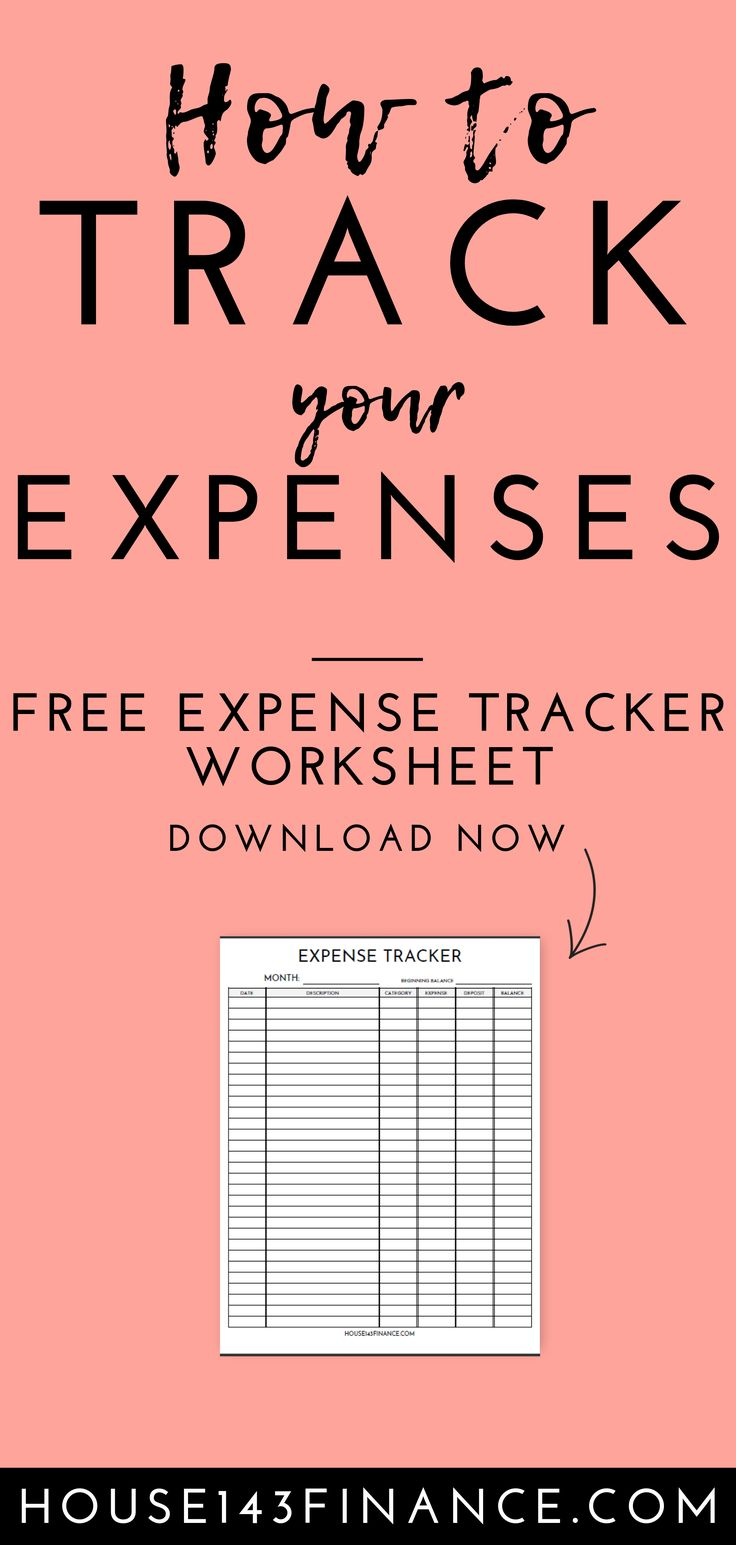 How To Track Your Expenses – How to Manage Money