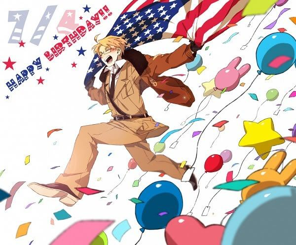 America's birthday is July 4th