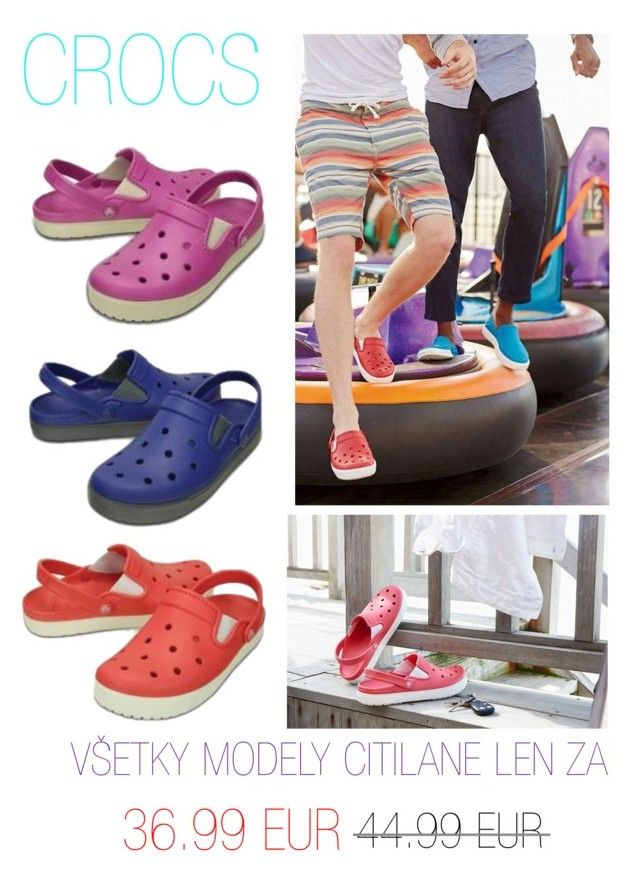 """Crocs letné sandále"" by nanohy on Polyvore"