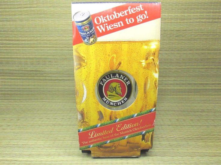 Paulaner Munchen German Beer Stein1 Liter Dimpled Glass Rastal Limited Edition