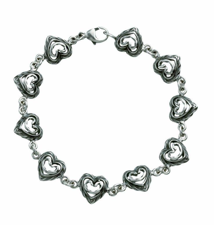 *** Kalevala koru, Talon sydän -rannekoru, hopea, 148 euroa ***