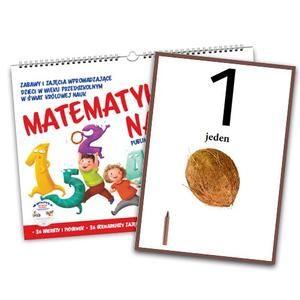 Matematyka na start z płytą CD + Cyfry plansze edukacyjne formatu A3 - Wydawnictwo BLIŻEJ PRZEDSZKOLA