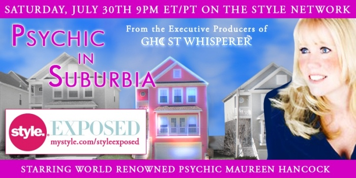 Vani just completed a project working with the folks from Sander Moses and the Style Network on getting artwork and promotional materials ready for the launch of Style's new show Psychic in Suburbia!http://www.mystyle.com/mystyle/shows/styleexposed/