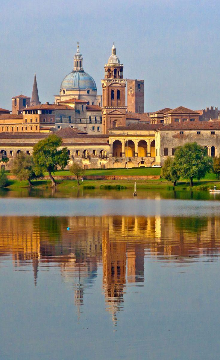 The captivating lakeside setting of the Renaissance city of Mantua.