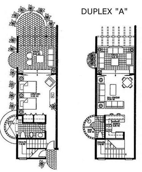 floor plans for duplex apartments dominican republic real