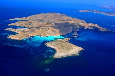 Malta, isla de Comino; destino el 14 de junio