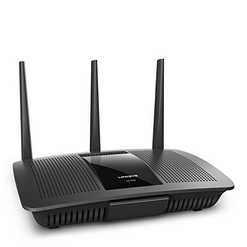 Linksys AC1900 Dual Band Wireless Router Works with Amazon Alexa (Max Stream EA7500)