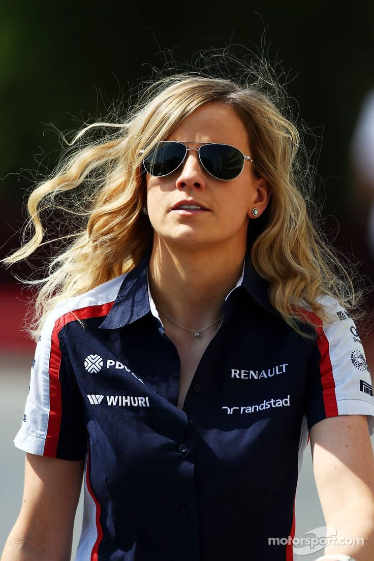 Babe in the pitline!, Susie Wolff, Williams Development Driver