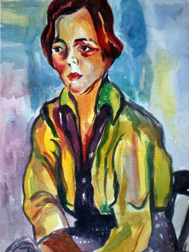 A Estudante (The Student), Anita Malfatti
