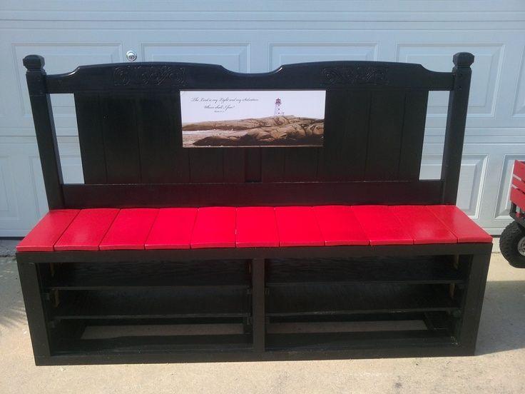 shoe rack bench