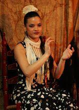 Photo: Flamenco dancer, Cafe de Chinitas, Madrid, Jan. 23, 2013.  Photo copyright 2013 by Gerry Dawes.