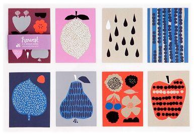 Hippest Shop - harvest-postkaarten-set-darling-clementine -  Indie-ish.nl