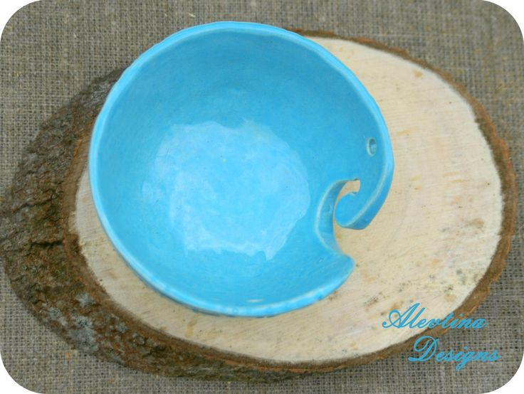 My ceramics study\ my ceramics yarn bowl