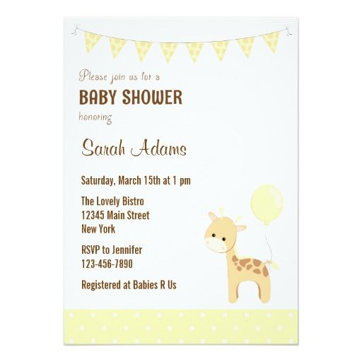 445 best Safari Baby Shower Invitations images on Pinterest - baby shower invitation letter