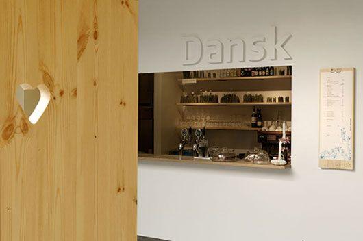 Unique Minimalist Cafe Interior Design