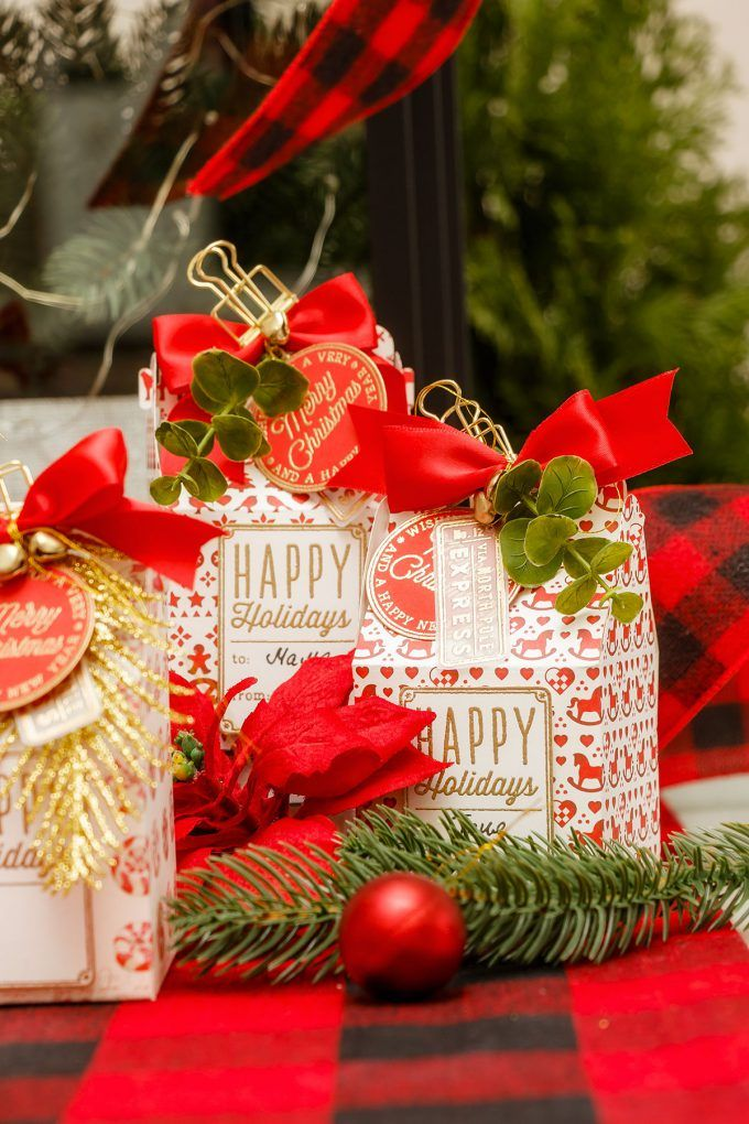 Last Minute Christmas Gift Box Ideas For Small Gifts Video Diy Christmas Gifts Diy Gift Box Christmas Gift Box
