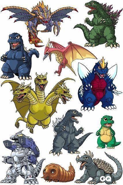 Megaguirus Godzilla 2000 Fire Rodan Godzilla 90 S King
