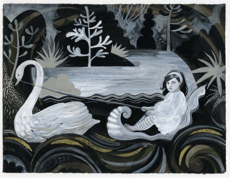wip swan boat