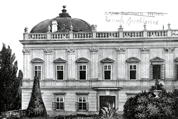 CR, Buchlovice Castle, The Chateau after reconstruction (1916)