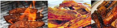 African Style Cuisine: South African Sticky Pork Rashers