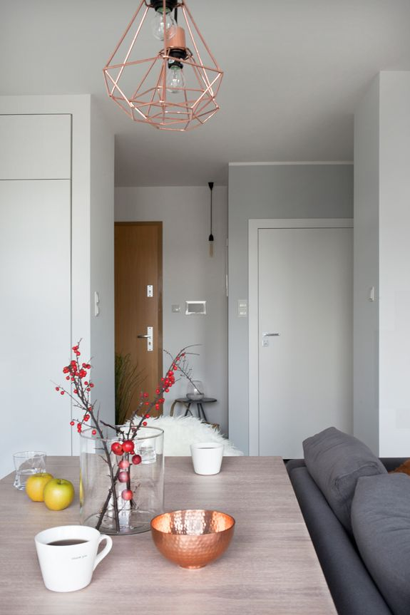 A little bit of modern scandinavian minimalist in this apartment in this 72 sq m 3 room apart