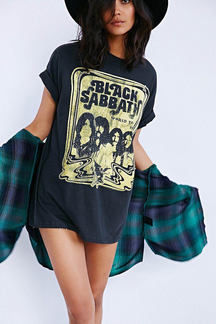 Black Sabbath Tee Dress