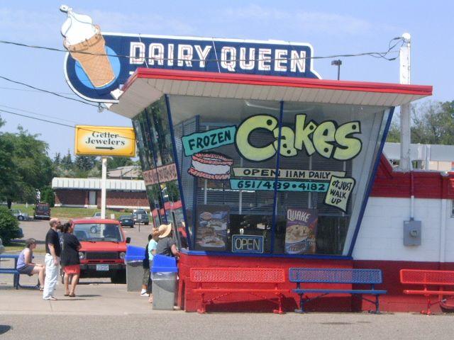 The original Dairy Queen store format-Roseville MN.