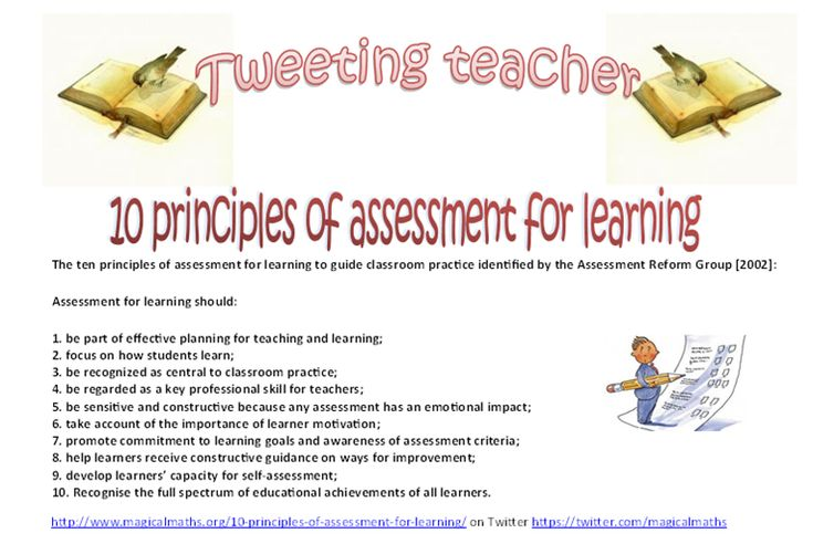 Do you know the 10 Principles of Assessment For Learning?