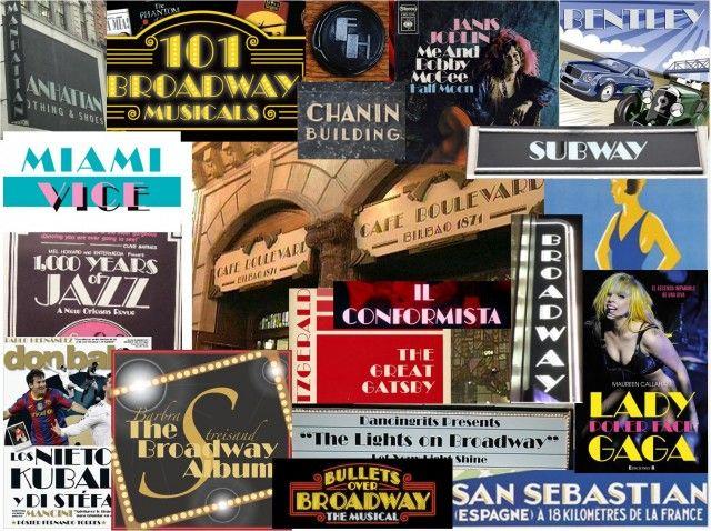 Ejemplos del uso de la fuente Broadway