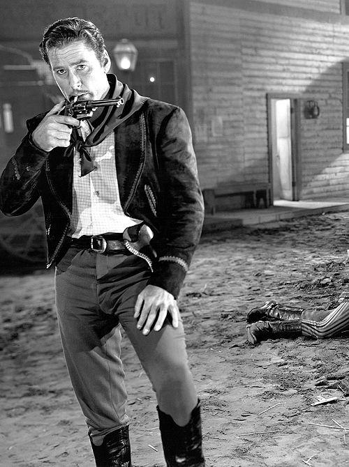 "Errol Flynn in ""San Antonio"", 1945"