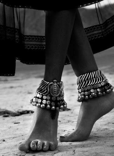 Rajasthani anklets