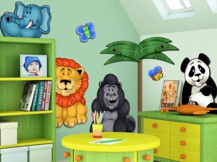 Kids Bedroom Jungle Theme 24 best jungle ideas images on pinterest | jungle room, kid