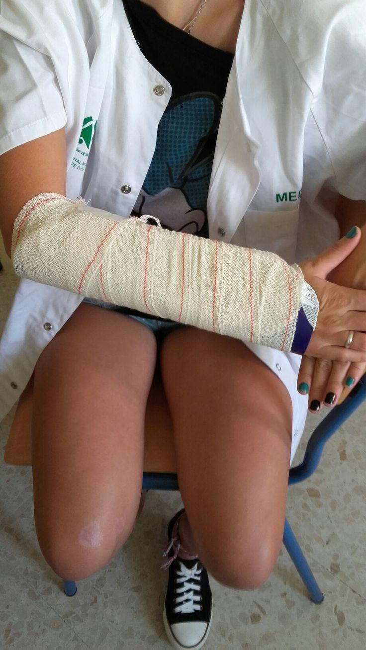 2. Inmovilización del brazo