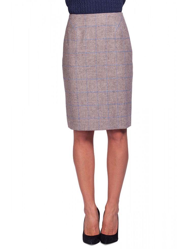 Fern Women's Tweed Pencil Skirt