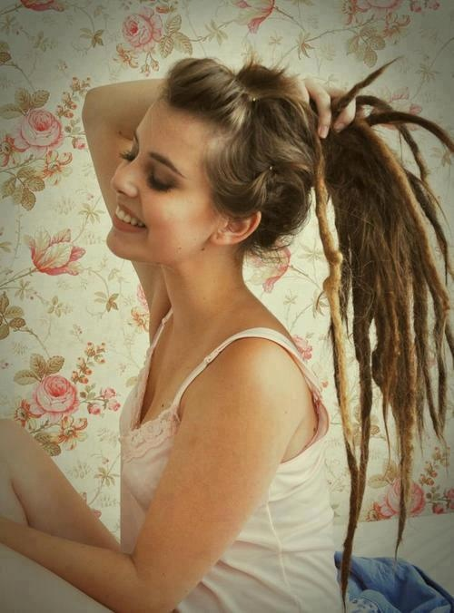 I'm so doing this when my hair grows back out.