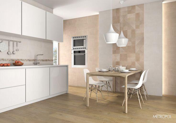#Cocina #Metropol #tendencia #interiorismo #arquitectura #textura #naturalidad #Cuisine #white&beige
