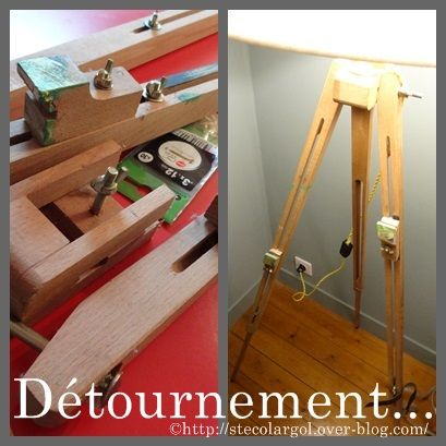 Un Chevalet de Campagne en Lampe Tuto DIY Instructions...