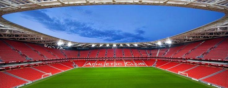 Estadio San Mamés Athletic Club de Bilbao / ACXT,  España http://www.arquitexs.com/2014/10/estadio-san-mames-acxt-Bilabao-espana.html
