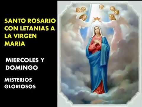 El Rincon de mi Espiritu: Santo Rosario con Letanías - Misterios Gloriosos -...
