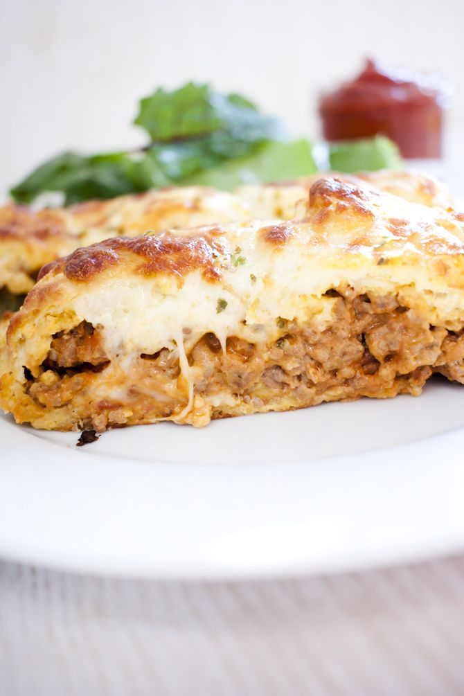 Low Carb Cheeseburger Calzone – Low Carb Köstlichkeiten
